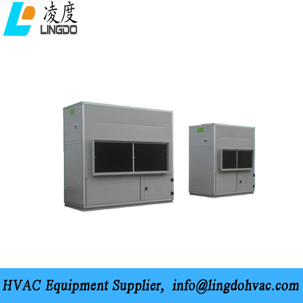 Large water cooled package unit