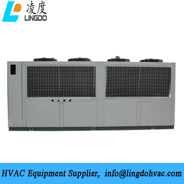 Cabinet air cooled chiller