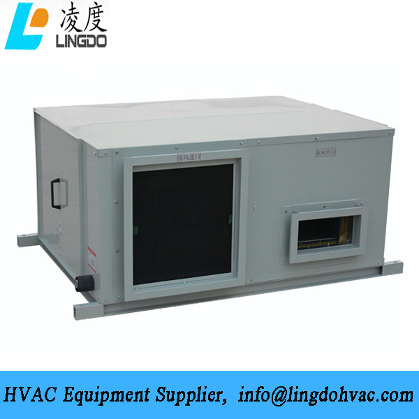 Plate heat recovery unit