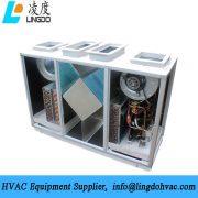Vertical heat pump heat fresh air unit2
