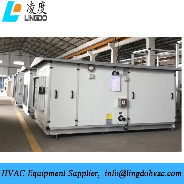 Outdoor air handling unit