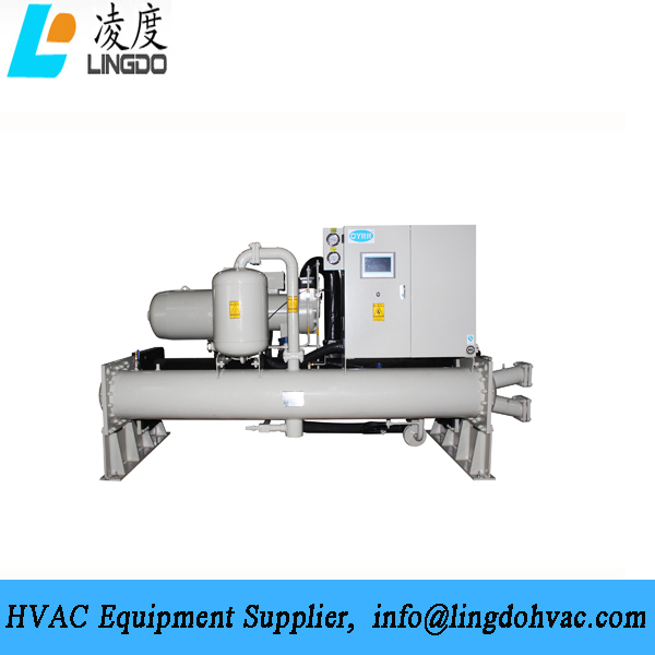 400kW flooded water cooled chiller